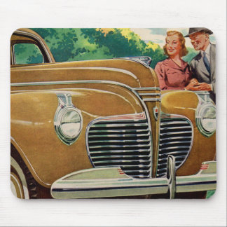 Mom and Dad's BIG golden 1941 Plymouth Mouse Pad