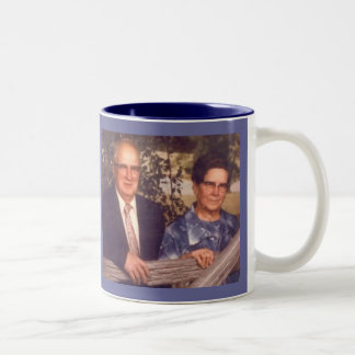 Mom and Dad Troop Two-Tone Coffee Mug