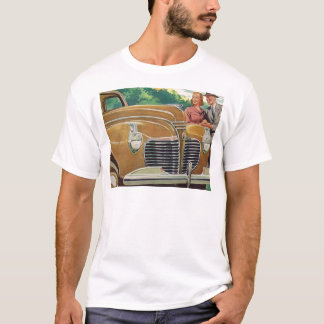 Mom and Dad's MAMMOTH golden 1941 Plymouth T-Shirt