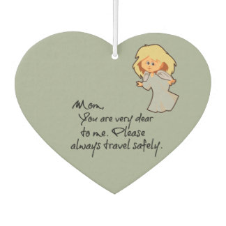 Mom Angel Drive Safely