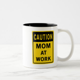 Mom At Work Mug