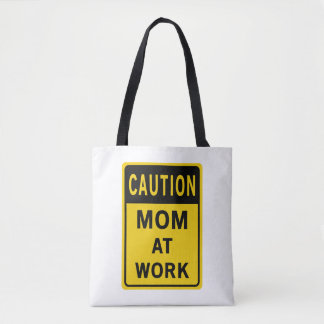Mom At Work Shopping Bag