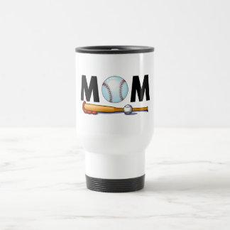 Mom Baseball Bat and Ball Mugs