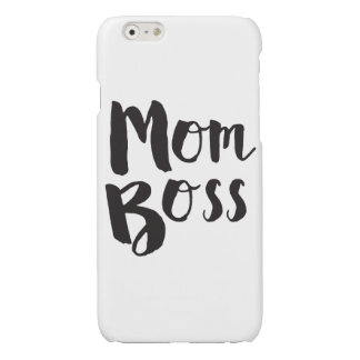 Mom Boss Mother's Day Gift iPhone Case
