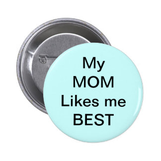 mom, brother, sister 6 cm round badge