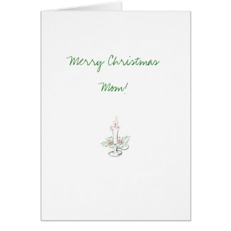 Mom Christmas Card