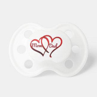 Mom Dad, 0-6 months BooginHead® Pacifier