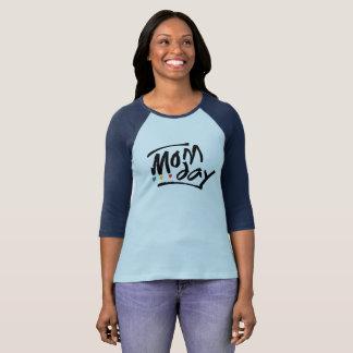 Mom Day 3/4 Sleeve Raglan T-Shirt