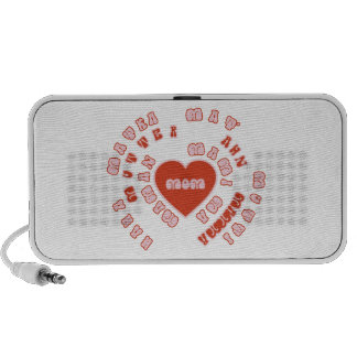 Mom Different Languages (Mother's Day & Birthday) Portable Speaker
