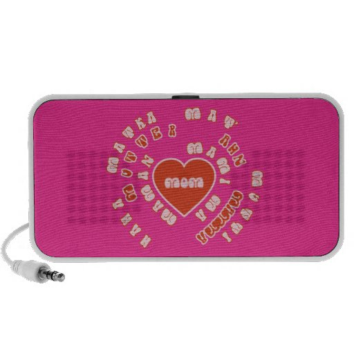Mom Different Languages (Mother's Day & Birthday) Travelling Speaker