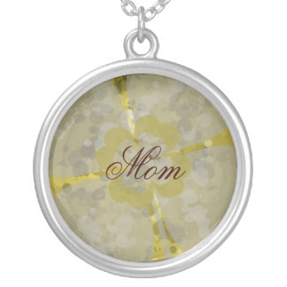 Mom, Dirty Clover Grunge Necklace