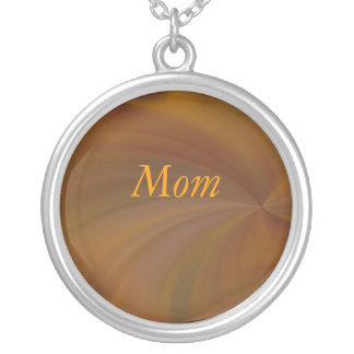 Mom Fall Radial Twirl Necklace