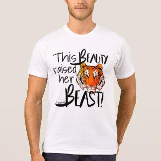 Mom Football Basketball Sports Tigers Slidell High T-Shirt