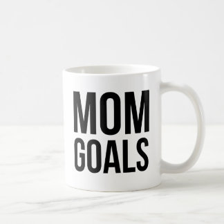 Mom Goals Gift for Mom, Shirts for Mom Coffee Mug