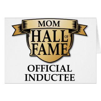 Mom Hall of Fame Greeting Card