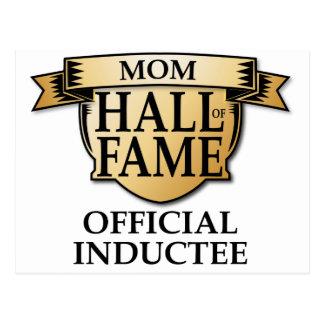 Mom Hall of Fame Postcard
