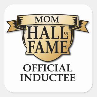 Mom Hall of Fame Sticker