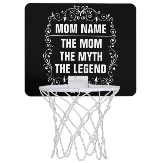 Mom Happy Mother's Day Mini Basketball Hoop