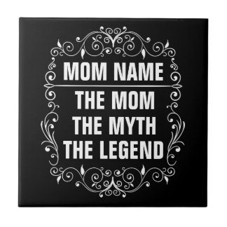 Mom Happy Mother's Day Tile
