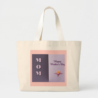 MOM Happy Mother's Day Canvas Bag