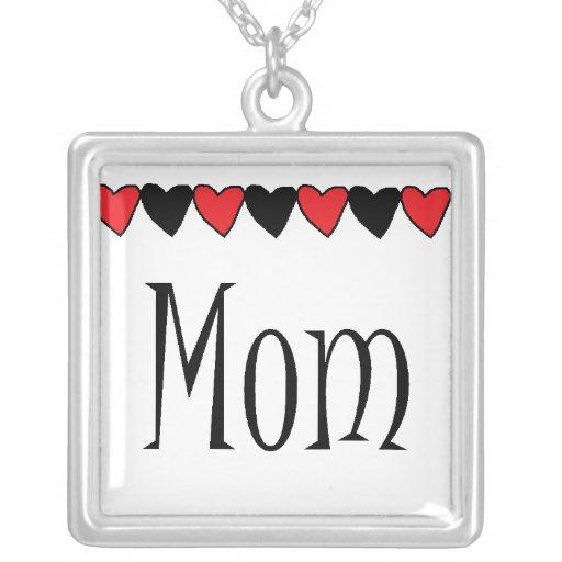 Mom Hearts Necklaces