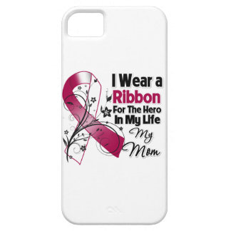 Mom Hero in My Life Head Neck Cancer iPhone 5 Case