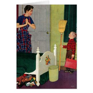 Mom, I Cleaned My Room! Card