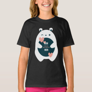 Mom, I Love You With All My Heart-Sweet Valentine T-Shirt