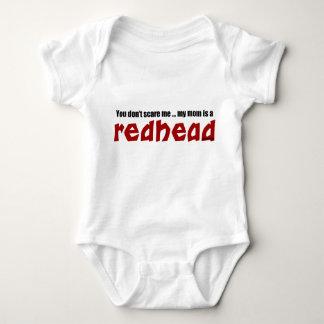Mom is a Redhead Baby Bodysuit