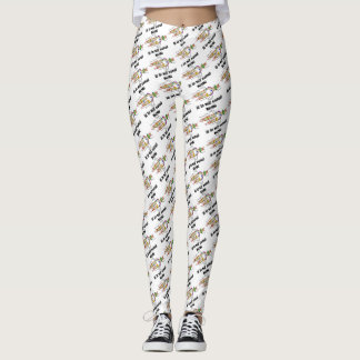 Mom Is In My Genes DNA Replication Genetics Humor Leggings