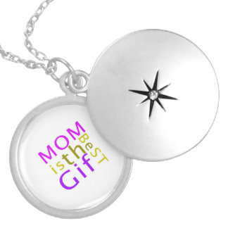 Mom is the Best Gift Necklace