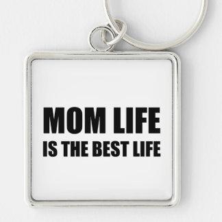 Mom Life Best Life Key Ring