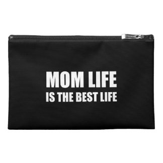 Mom Life Best Life Travel Accessory Bag