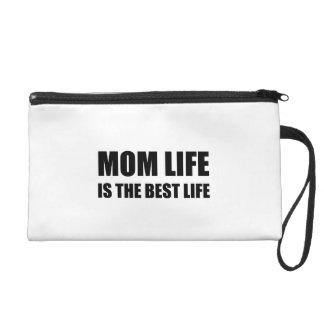 Mom Life Best Life Wristlet