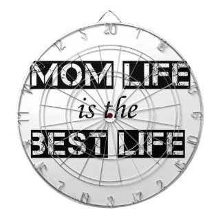 mom life is the best life dartboard with darts