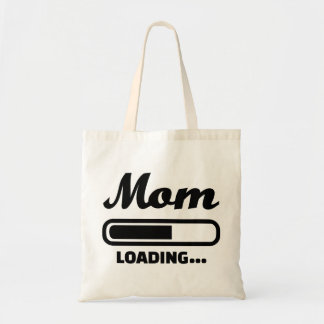 Mom loading pregnant bags
