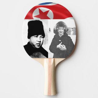 Mom Meets First North Korean Strong Man Ping Pong Paddle