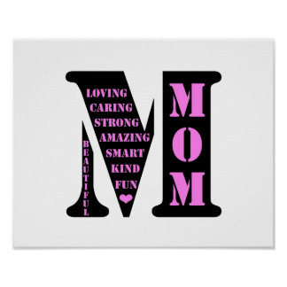 Mom Monogram Print