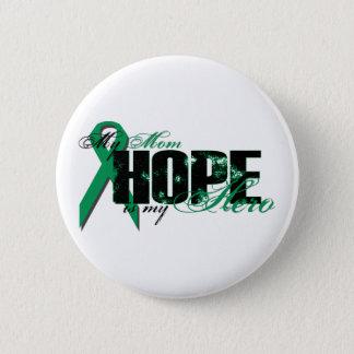 Mom My Hero - Kidney Cancer Hope 6 Cm Round Badge