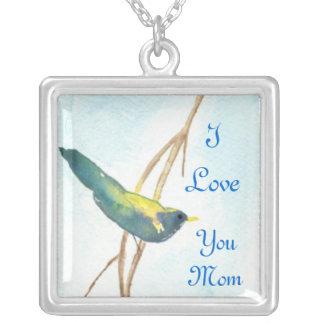 Mom Necklace Song Bird