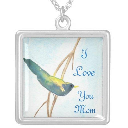 Mom Necklace, Song Bird
