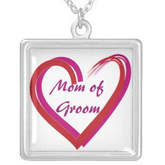 Mom of Groom Heart Gift Jewelry