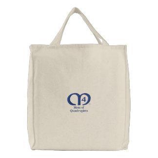 Mom of Quadruplets [Blue] Bag