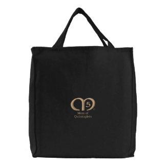 Mom of Quintuplets [Tan] Bag