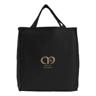 Mom of Sextuplets [Tan] Bag