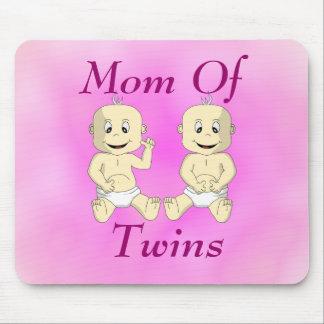 Mom Of Twin Babies Mousepad