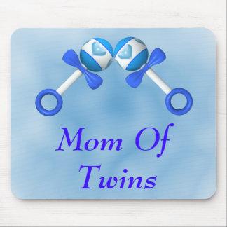 Mom Of Twin Boys Mousepad