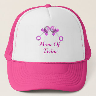 Mom Of Twin Girls Hat