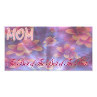 mom photo card template