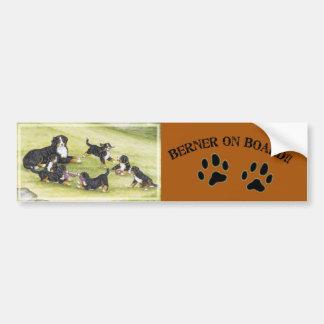 Mom & Pups Bumper Sticker